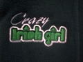 Picture of McKay's Crazy Irish Girl Hooded Sweatshirt (SB056 - 398)