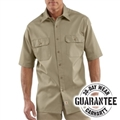 Picture of Carhartt Men's Twill Short - Sleeve Work Shirt (S223)