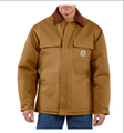 Picture of Carhartt Men's Duck Traditional Coat / Arctic Quilt - Lined (C003)