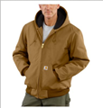 Picture of Carhartt Men's Duck Active Jac / Quilted - Flannel Lined (J140)