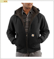 Picture of Carhartt Men's Collinston Brushed - Fleece Sherpa - Lined Sweatshirt (100072)