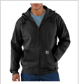 Picture of Carhartt Men's Rain Defender Paxton Heavyweight Hooded Zip - Front Sweatshirt (100614)