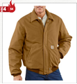 Picture of Carhartt Men's Flame - Resistant Duck Bomber Jacket / Quilt - Lined (101623)
