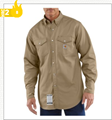 Picture of Carhartt Men's Flame - Resistant Snap - Front Twill Shirt (101572)