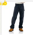 Picture of Carhartt Men's Flame - Resistant Midweight Canvas Jean - Loose - Fit (FRB159)