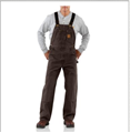 Picture of Carhartt Men's Sandstone Bib Overall / Unlined (R06)