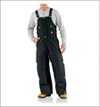 Picture of Carhartt Men's Extreme's Zip - to - Waist Biberall / Arctic - Quilt Lined (R33)