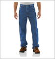 Picture of Carhartt Men's Loose / Original Fit Signature Denim Work Dungaree (B237)