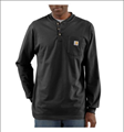 Picture of Carhartt Men's Long - Sleeve Workwear Henley (K128)
