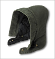 Picture of Carhartt Men's Sandstone Hood / Arctic - Quilt Lined (A148)