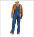 Picture of Carhartt Men's Washed Denim Bib Overall / Unlined (R07)