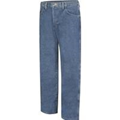 Picture of Bulwark FR - Loose Fit Stone Washed Denim Jean, Stone Wash (PEJ6SW)