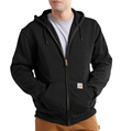 Picture of Carhartt Men's Rain Defender Rutland Thermal Lined Hooded Zip - Front Sweatshirt (100632)