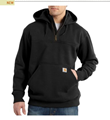 Picture of Carhartt Men's Rain Defender Paxton Heavyweight Hooded Zip Mock Sweatshirt (100617)