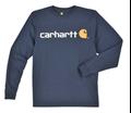 Picture of Carhartt Men's Long - Sleeve Signature Logo T- Shirt (K298)