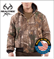 Picture of Carhartt Men's Quilted - Flannel Lined WorkCamo AP Active Jac (J221)