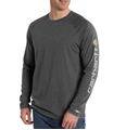Picture of Carhartt Men's Force Cotton Delmont Long - Sleeve Graphic T- Shirt (101302)