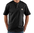 Picture of Carhartt Men's Workwear Pocket Short -Sleeve Henley Shirt (K84)