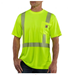 Picture of Carhartt Men's Force High - Visibility Short - Sleeve Class 2 T - Shirt (100495)