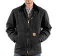 Picture of Carhartt Men's Sandstone Ridge Coat / Sherpa Lined (C61)