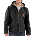 Picture of Carhartt Men's Sandstone Sierra Jacket / Sherpa Lined (J141)