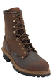 Picture of Carolina Men's  Double H Copper Crazy Horse 8in Carolina Lace Up Steel Toe Waterproof Logger Work Boot (9821)