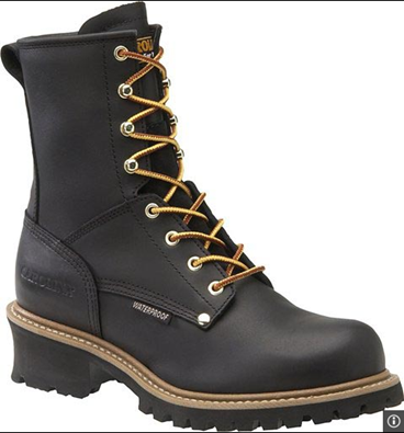 "Picture of Carolina Men's 8"" Waterproof Steel Toe Logger Work Boot (9823)"