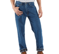 Picture of Carhartt Men's Relaxed Fit Straight Leg Flannel Lined Jeans (B172)