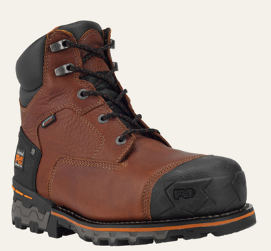 "Picture of TImberland Pro Men's Boondock WP Insulated 6"" Safety Toe Boot (92641)"