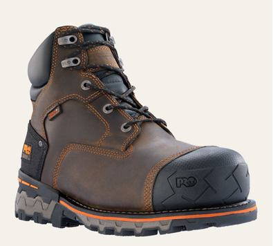 "Picture of TImberland Pro Men's Boondock WP 6"" Safety Toe Boot (92615)"
