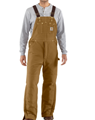 Picture of Carhartt Men's Duck Bib Overall / Arctic Quilt Lined (R03)