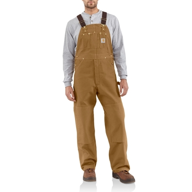 Picture of Carhartt Men's Duck Bib Overall / Unlined (R01)