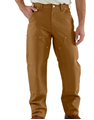 Picture of Carhartt Men's Firm Double - Front Work Dungaree Pant (B01)