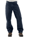 Picture of Carhartt Men's Flame - Resistant Signature Denim Dungaree (FRB13)