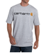 Picture of Carhartt Men's Signature Logo Short - Sleeve T- Shirt (K195)
