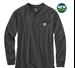 Picture of Carhartt Men's Long - Sleeve Workwear Henley (K128)
