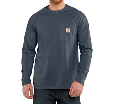 Picture of Carhartt Men's Force Cotton Long Sleeve T- Shirt (100393)
