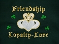 Picture of McKay's Irish Friendship Loyalty Love Hooded Sweatshirt (SB004)