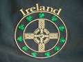 Picture of McKay's Ireland Celtic Cross Hooded Sweatshirt (SB028)
