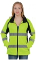 Picture of Utility ProWear Ladies Full Zip Soft Shell Class 2