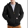 Picture of Carhartt Men's Rain Defender Rutland Thermal Lined Hooded Zip - Front Sweatshirt (100632)