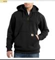 Picture of Carhartt Men's Rain Defender Paxton Heavyweight Hooded Zip Mock Sweatshirt (100617)