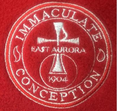 Picture of School Uniform -  Immaculate Conception 1/2 Zip Fleece SUIC2