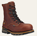 """Picture of Timberland Men's Boondock Plain Toe 8"""" Composite Safety Toe Waterproof Boot (1112A)"""